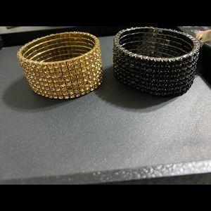 Sparkling diamond bracelets